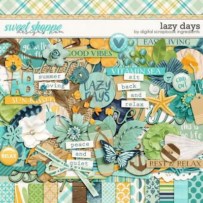 Lazy Days by Digital Scrapbook Ingredients