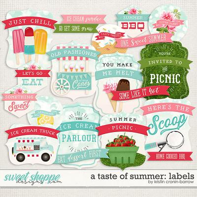 A Taste of Summer: Labels