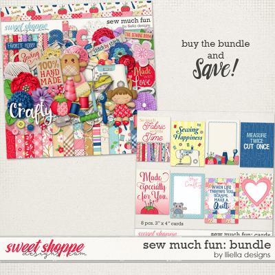 Sew Much Fun: Bundle by lliella designs