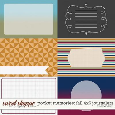 Pocket Memories: Fall 4x6 Journalers by Amanda Yi