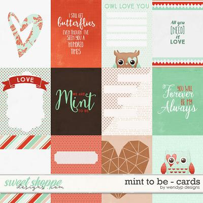 Mint to be - cards by WendyP Designs