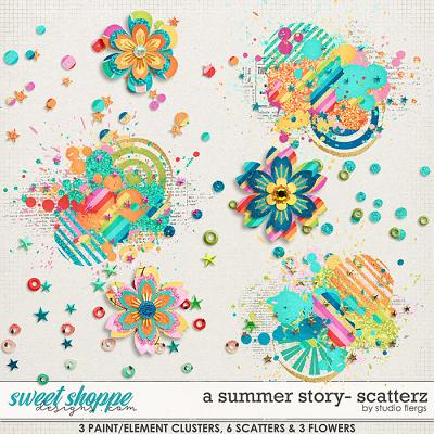 A Summer Story: SCATTERZ by Studio Flergs