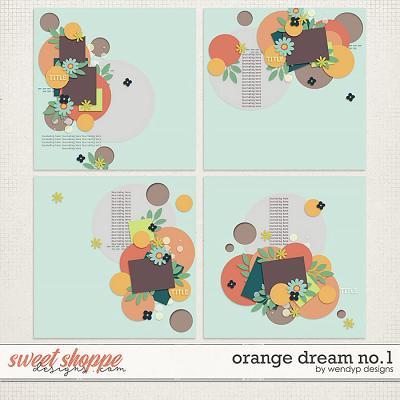 Orange Dream no.1 by WendyP Designs