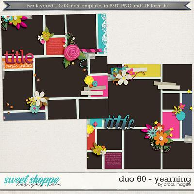 Brook's Templates - Duo 60 - Yearning by Brook Magee