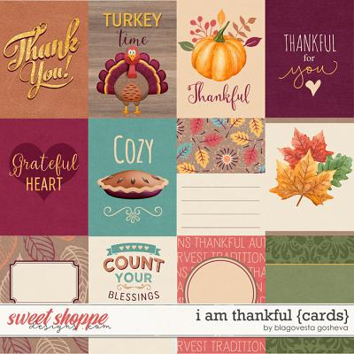 I Am Thankful {cards} by Blagovesta Gosheva