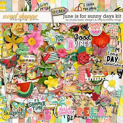 June Is For Sunny Days Kit by Studio Basic