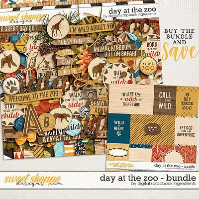 Day At The Zoo Bundle & *FWP* by Digital Scrapbook Ingredients