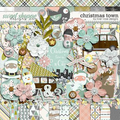Christmas Town by River Rose Designs