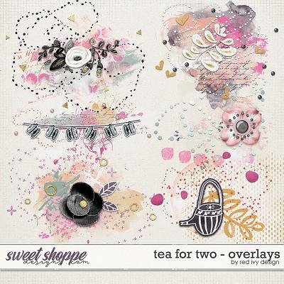 Tea For Two - Overlays by Red Ivy Design