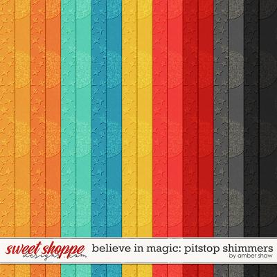 Believe in Magic: Pitstop - Shimmers by Amber Shaw