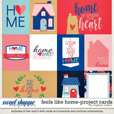 Feels Like Home-Project Cards by Meghan Mullens