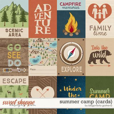 Summer Camp {cards} by Blagovesta Gosheva