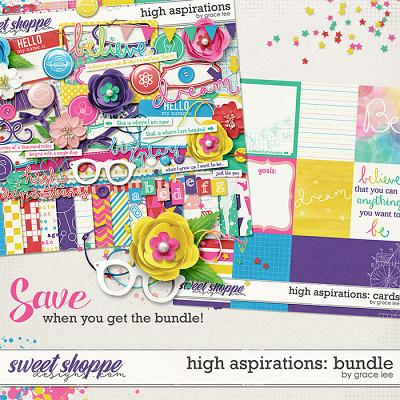 High Aspirations: Bundle by Grace Lee