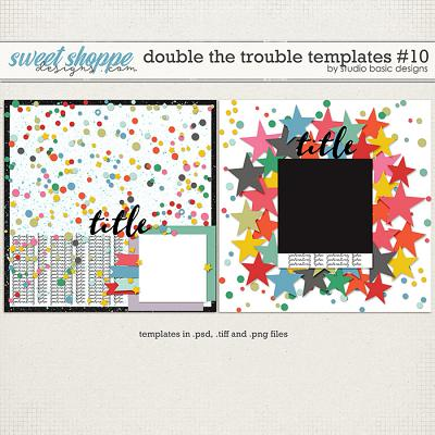 Double The Trouble Templates #10 by Studio Basic