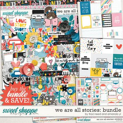 We Are All Stories Bundle by Traci Reed and Amanda Yi