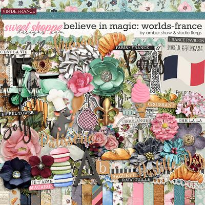Believe in Magic: Worlds - France by Amber Shaw & Studio Flergs