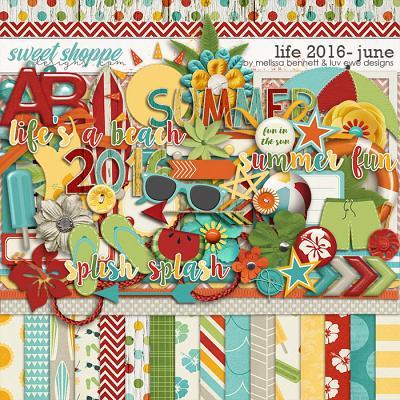 Life 2016-June by Melissa Bennett & Luv Ewe Designs