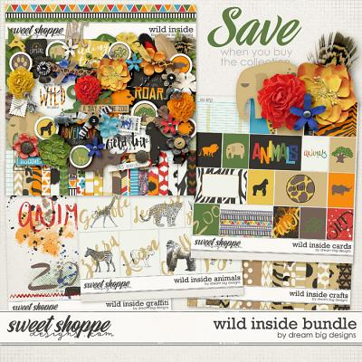 Wild Inside Bundle by Dream Big Designs