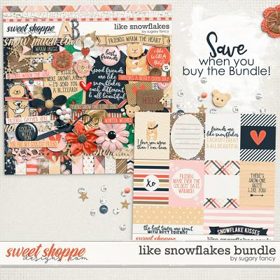 Like Snowflakes Bundle by Sugary fancy