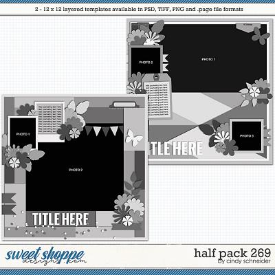 Cindy's Layered Templates - Half Pack 269 by Cindy Schneider