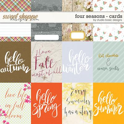 Four Seasons Cards by Studio Basic