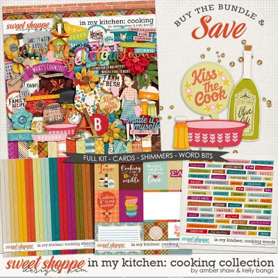 In My Kitchen: Cooking Bundle by Amber Shaw and Kelly Bangs Creative