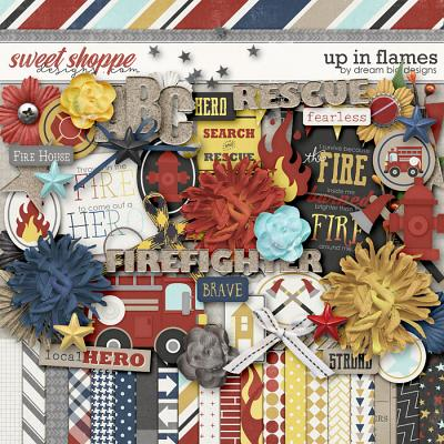 Up in Flames by Dream Big Designs