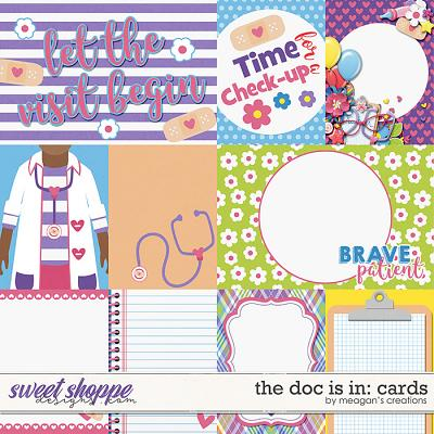 The Doc Is In: Cards by Meagan's Creations
