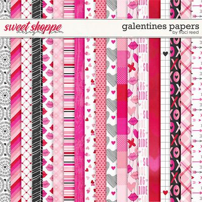 Galentines 12x12 Papers by Traci Reed