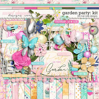 Garden Party: Kit by River Rose Designs