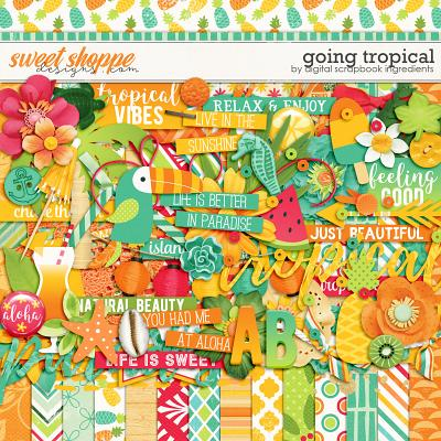 Going Tropical by Digital Scrapbook Ingredients