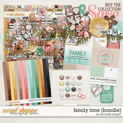 Family Time Bundle by Ponytails