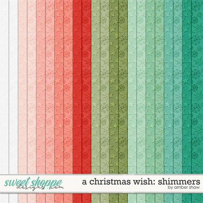 A Christmas Wish:  Shimmers by Amber Shaw