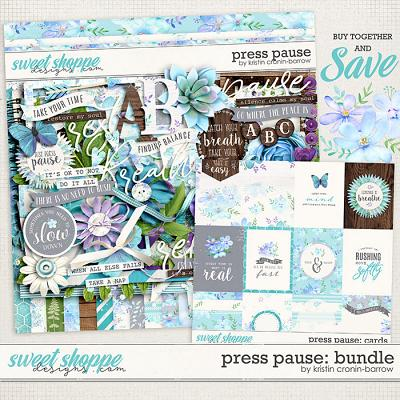 Press Pause: Bundle by Kristin Cronin-Barrow