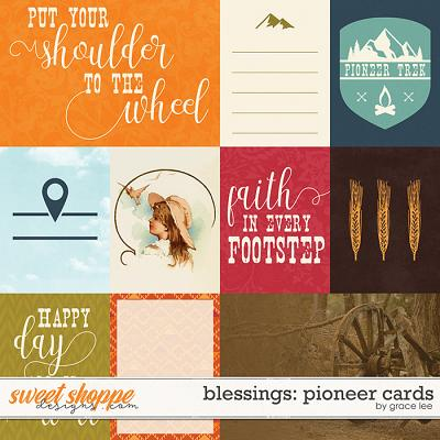 Blessings: Pioneer Cards by Grace Lee