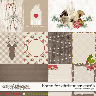 Home for Christmas: Cards by River Rose Designs