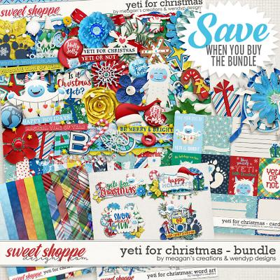 Yeti for Christmas: Bundle by Meagan's Creations and WendyP Designs