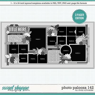 Cindy's Layered Templates - Photo Palooza 142 by Cindy Schneider