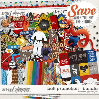 Belt promotion - bundle & *FWP* by WendyP Designs