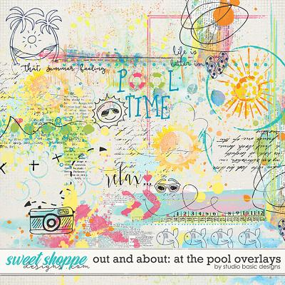 Out and About: At the Pool Overlays by Studio Basic