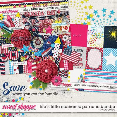 Life's Little Moments Patriotic: Bundle by Grace Lee