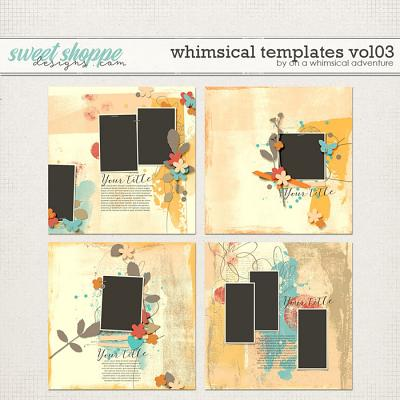 Whimsical Templates Vol03 by On A Whimsical Adventure
