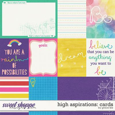 High Aspirations: Cards by Grace Lee