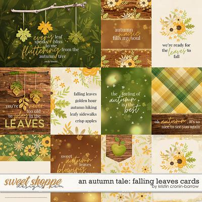 An Autumn Tale: Falling Leaves Cards by Kristin Cronin-Barrow