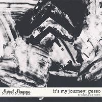 It's My Journey: Gesso by Captivated Visions