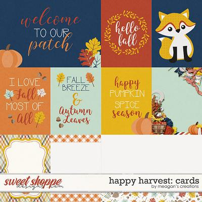 Happy Harvest: Cards by Meagan's Creations