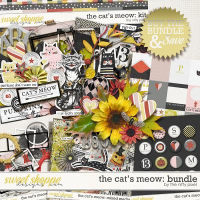 THE CAT'S MEOW | BUNDLE by The Nifty Pixel