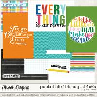 Pocket Life '15: August 4x6s by Traci Reed