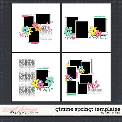 Gimme Spring Templates by Janet Phillips