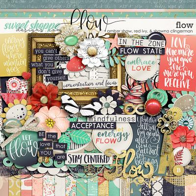 Flow by Amber Shaw, Red Ivy Design and Shawna Clingerman